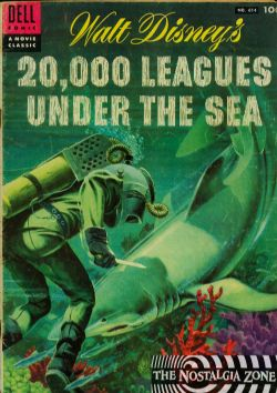 20,000 Leagues Under The Sea (1955) Dell Four Color (2nd Series) 614