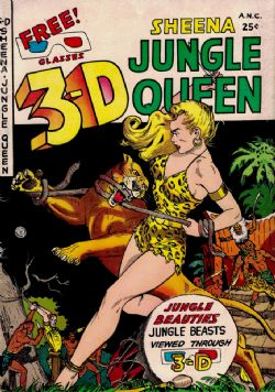 3-D Sheena, Jungle Queen (1953) 1