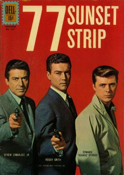 77 Sunset Strip (1961) Dell Four Color (2nd Series) 1211
