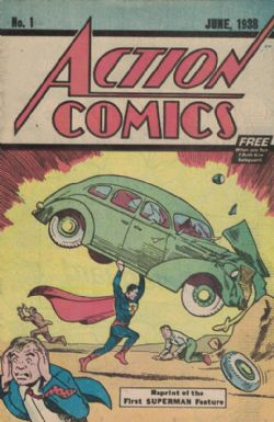 Action Comics (1st Series) (1938) 1 (Lootcrate Exclusive)