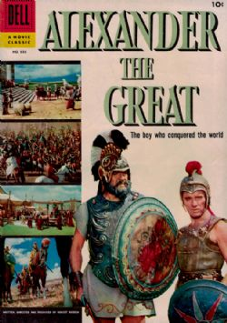 Alexander The Great (1956) Dell Four Color (2nd Series) 688