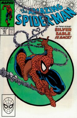 The Amazing Spider-Man (1st Series) (1963) 301 (Mark Jeweler Edition)