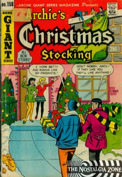 Archie Giant Series (1954) 158 (Archie's Christmas Stocking)