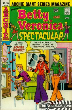 Archie Giant Series (1954) 246 (Betty And Veronica Spectacular)