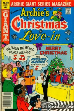 Archie Giant Series (1954) 490 (Archie's Christmas Love-In)