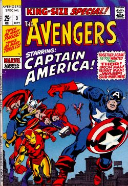 The Avengers (1st Series) Annual (1963) 3