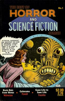 The Best Of Horror And Science Fiction Comics (1987) 1