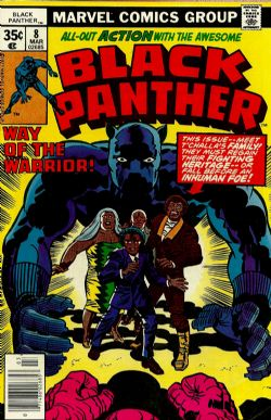 Black Panther (1st Series) (1977) 8