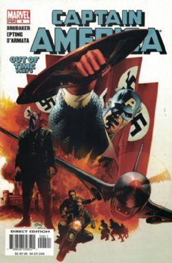 Captain America (5th Series) (2004) 6 (Captain America Cover)