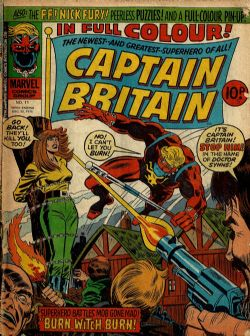 Captain Britain (1st Series) (1976) 11 (United Kingdom)