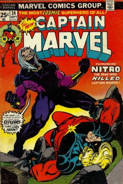 Captain Marvel (1st Series) (1968) 34