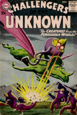 Challengers Of The Unknown (1st Series) (1958) 11