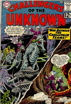 Challengers Of The Unknown (1st Series) (1958) 29