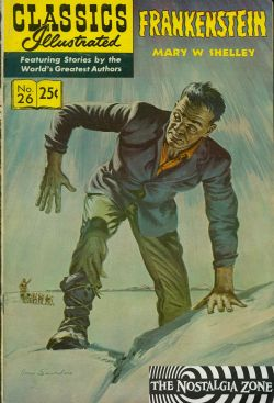 Classics Illustrated (1941) 26 (Frankenstein) HRN169 (19th Print)