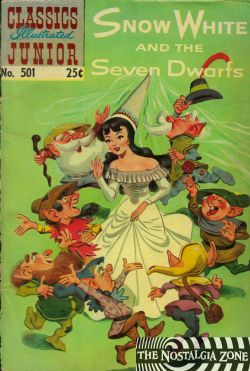 Classics Illustrated Junior (1953) 501 (Snow White And The Seven Dwarfs) HRN576