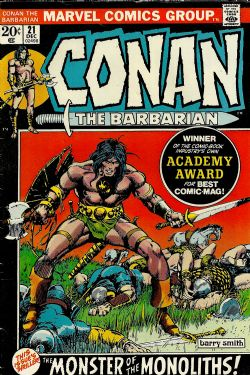 Conan The Barbarian (1st Series) (1970) 21