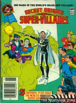 DC Special Blue Ribbon Digest (1980) 15 (Secret Origins of Super-Villains)