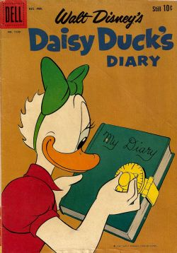 Daisy Duck's Diary (1954) 7 Dell Four Color (2nd Series) 1150