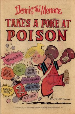 Dennis The Menace Takes A Poke At Poison (1981) nn (7th Print)