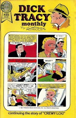 Dick Tracy Monthly (1986) 25