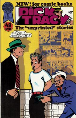 "Dick Tracy The ""Unprinted"" Stories (1987) 2"