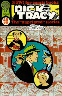 "Dick Tracy The ""Unprinted"" Stories (1987) 3"