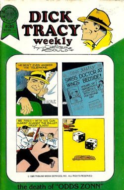Dick Tracy Weekly (1988) 36