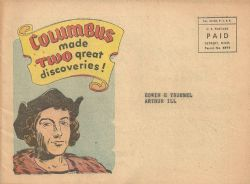 Dodge Motors Promotional Comics: Columbus Made Two great Discoveries! (1953) nn