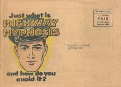 Dodge Motors Promotional Comics: Highway Hypnosis (1954) nn