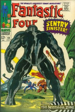 The Fantastic Four (1st Series) (1961) 64