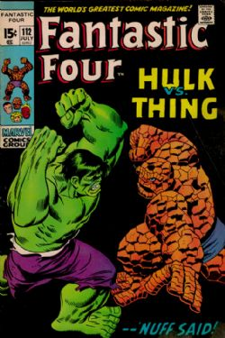 The Fantastic Four (1st Series) (1961) 112