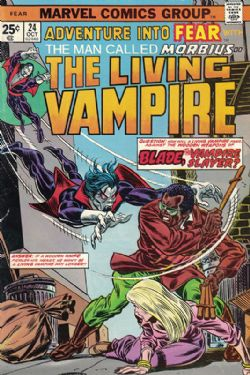 Adventure Into Fear With Morbius The Living Vampire (1970) 24
