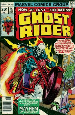 Ghost Rider (1st Series) (1973) 25