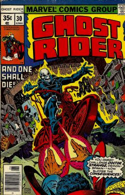 Ghost Rider (1st Series) (1973) 30