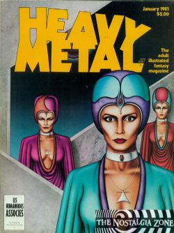Heavy Metal Volume 4 (1981) 10 (January)