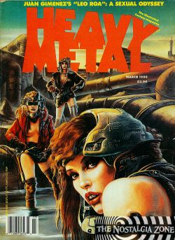 Heavy Metal Volume 13 (1989) 1 (March)
