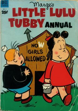 Dell Giant: Marge's Little Lulu Tubby Annual (1953) 2