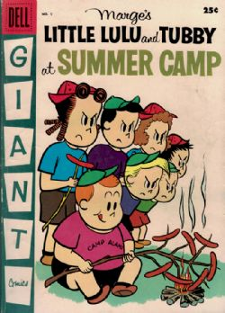 Dell Giant: Marge's Little Lulu And Tubby At Summer Camp (1958) 5