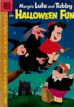 Dell Giant: Marge's Little Lulu And Tubby Halloween Fun (1957) 6
