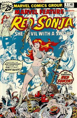 Marvel Feature (2nd Series) (1975) 4 (Red Sonja)