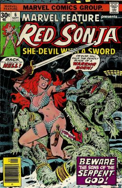Marvel Feature (2nd Series) (1975) 6 (Red Sonja)