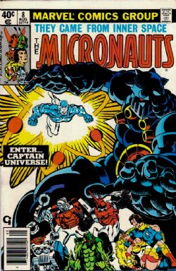 The Micronauts (1st Series) (1979) 8