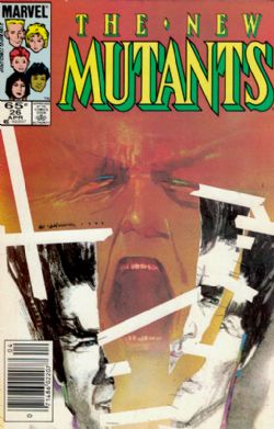 The New Mutants (1st Series) (1983) 26 (Newsstand)