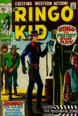 Ringo Kid (1970) 1 (2nd Series)