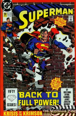 Superman (2nd Series) (1986) 50 (1st Print)