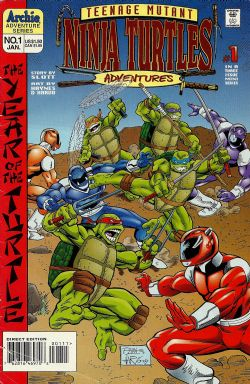 Teenage Mutant Ninja Turtles Adventures: The Year Of The Turtle (1996) 1