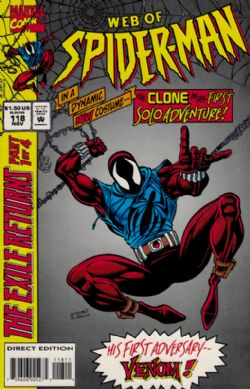 Web Of Spider-Man (1st Series) (1985) 118