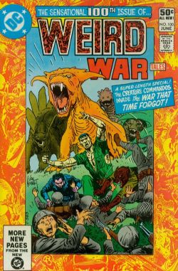 Weird War Tales (1st Series) (1971) 100