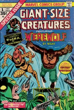 Giant-Size Creatures Featuring Werewolf By Night (1974) 1