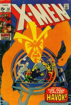 X-Men (1st Series) (1963) 58